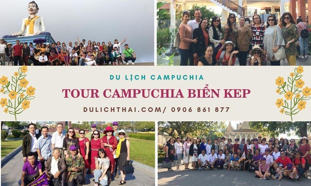 Tour Campuchia Biển Kep