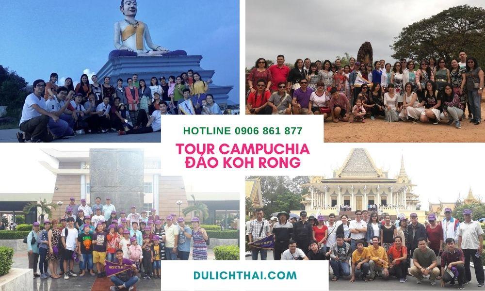 Tour Campuchia Đảo Kohrong