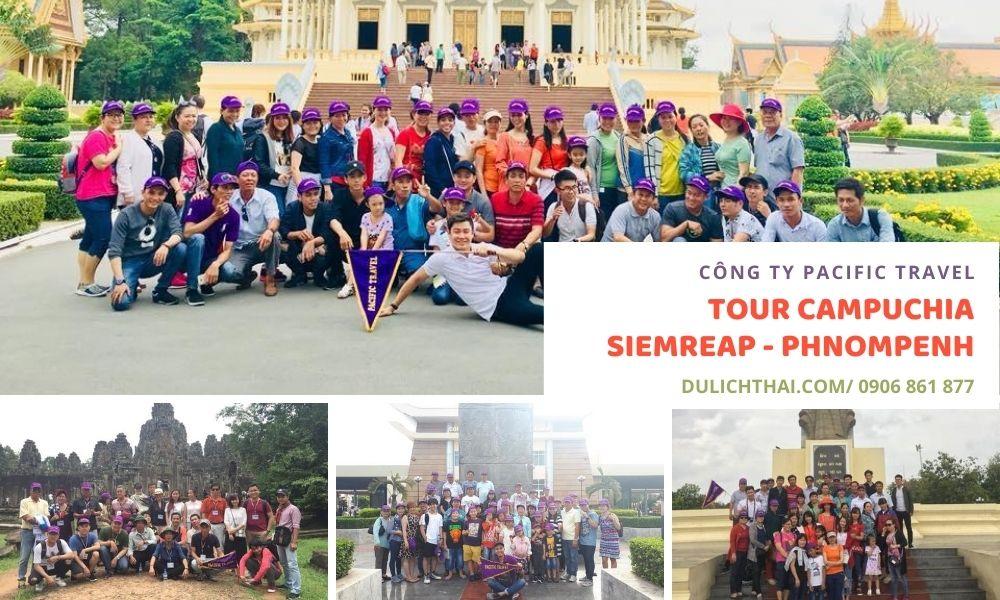 Tour Campuchia Siemreap Phnompenh