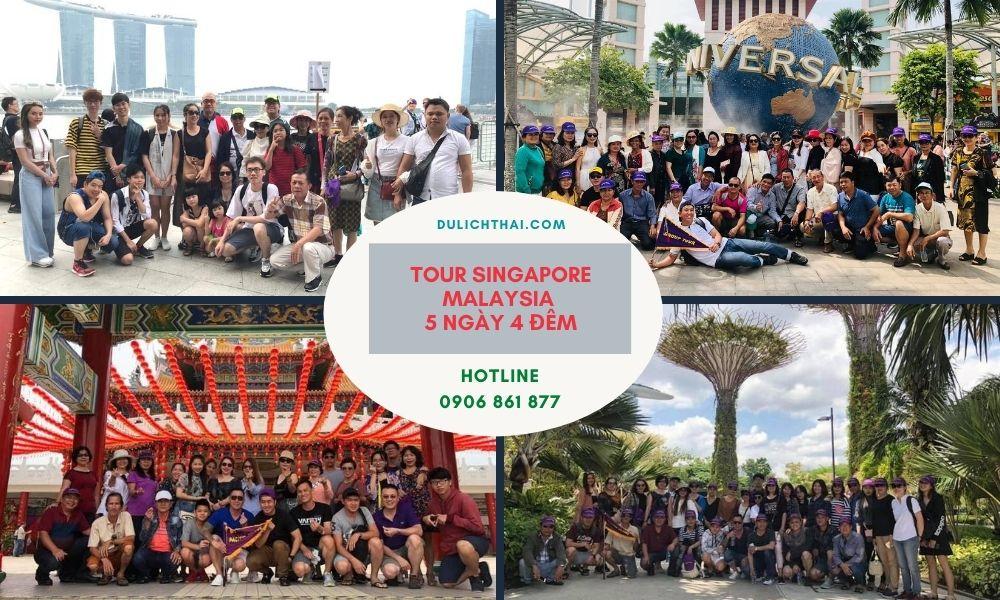 Tour Singapore Malaysia 5 Ngày 4 Đêm